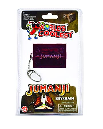 Amazon.com: Worlds Coolest Jumanji Novelty Llavero: Toys ...