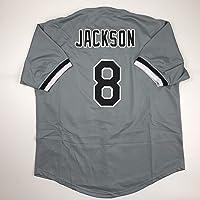 $49 » Unsigned Bo Jackson Chicago Grey Custom Stitched Baseball Jersey Size Men's XL New No Brands/Logos
