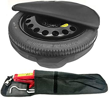 2003-2018 TheWheelShop 17 SPACE SAVER SPARE WHEEL AND TOOL KIT /& COVER BAG COMPATIBLE WITH BMW 3 SERIES