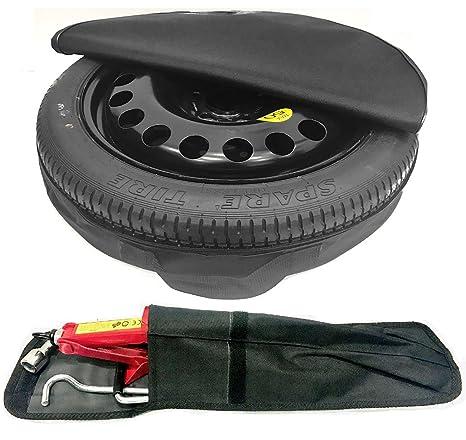 TheWheelShop - Rueda de repuesto para coche y kit de herramientas, rueda de 18 pulgadas
