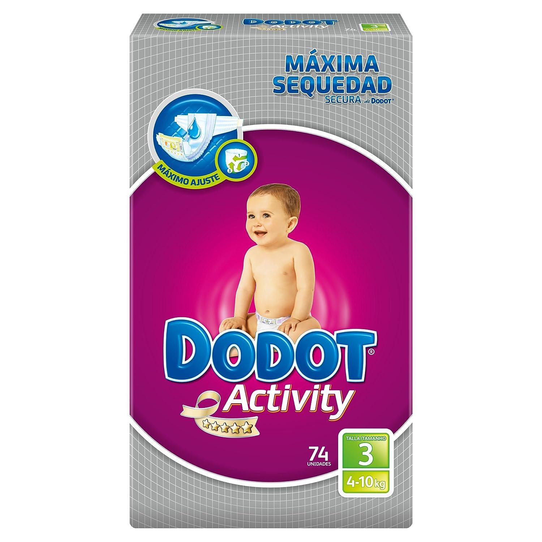 Dodot Activity - Pañales, talla 3, 4-10 kg, 222 unidades: Amazon.es: Amazon Pantry
