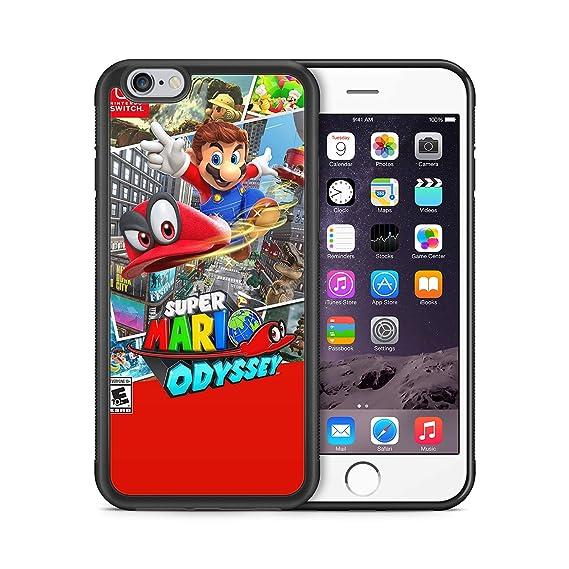 86b964a1039ba Super Mario Odyssey ModifiedCases Bumper Case Compatible with iPhone 6/6S