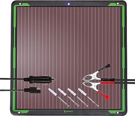 Amazon.com: Sunapex - Cargador solar de 1,8 W y 12 V ...