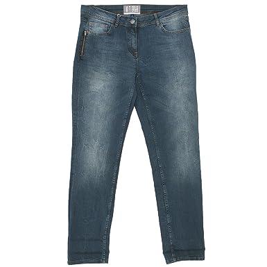 hell im Glanz neueste trends billiger Verkauf Cecil, Charlize Slim, Damen Jeans Hose, Stretchdenim, Blue ...