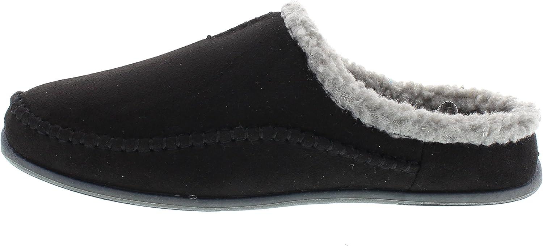 Slipperooz Deer Stags Mens Nordic Plus S.U.P.R.O Sock and Memory Foam Cushioned Indoor Outdoor Clog Slipper
