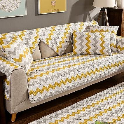 Amazon.com: YANGYAYA Nordic Style Sofa slipcovers,Simple ...