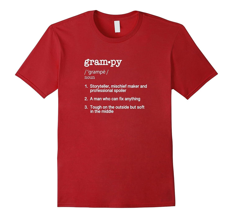 Mens Grampy Definition Shirt Fathers-Teesml
