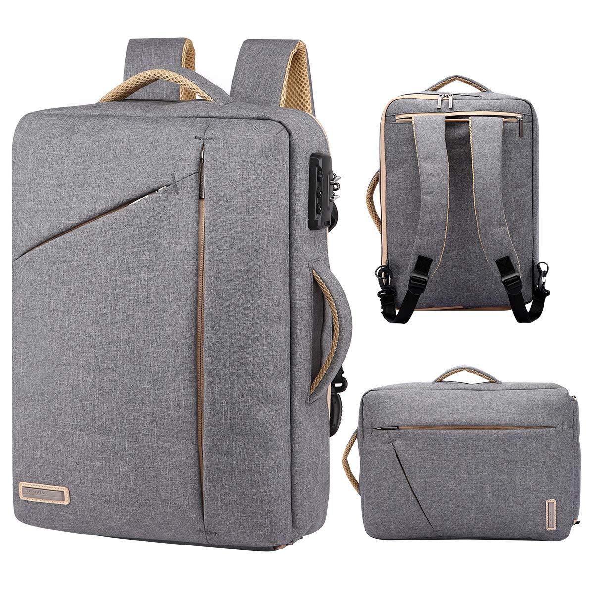 6ff4f3b5ff Amazon.com  TUGUAN slim laptop backpack