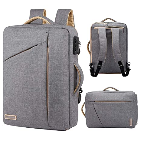 4391b826b526 Image Unavailable. Image not available for. Color  TUGUAN slim laptop  backpack
