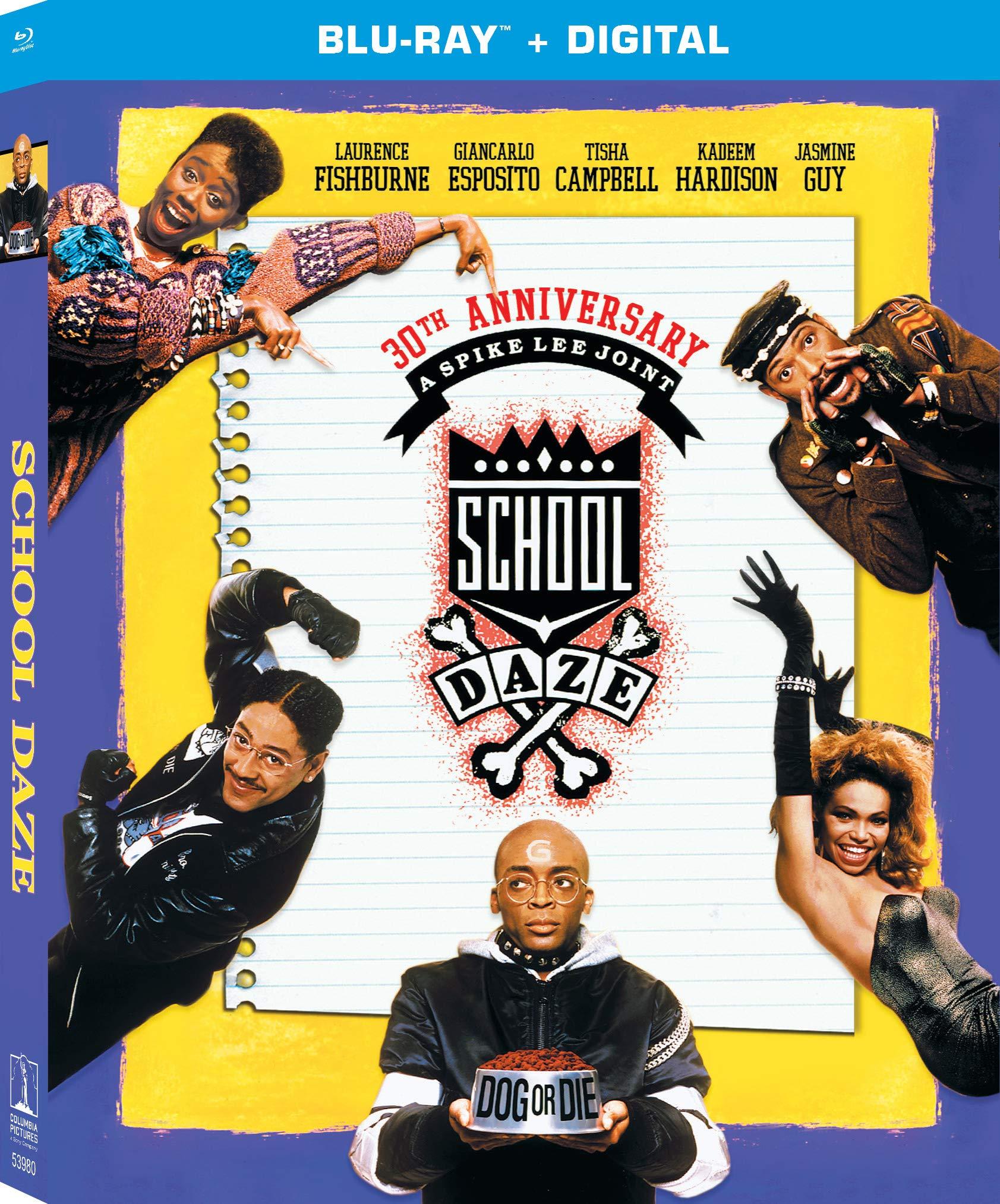 Blu-ray : School Daze (30th Anniversary) (Anniversary Edition, Widescreen, AC-3, Digital Copy, Mono Sound)