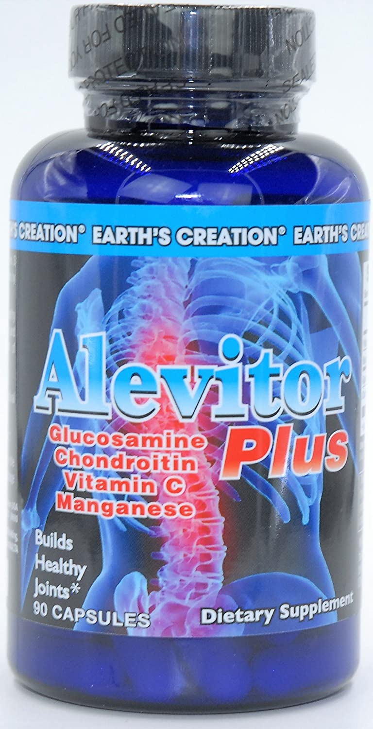 Alevitor Plus Triple Strength Glucosamine 30mg Puritan Pride 90 Caps Manganese Chondroitin Vitamin C For Healthy Joints Health Personal Care