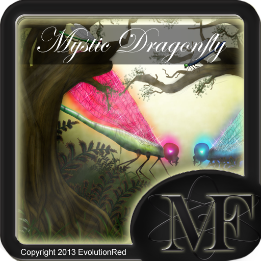 Mystic Dragonfly (Match 3 Fusion Game)