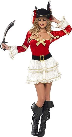 FEVER - Disfraz de pirata para mujer, talla M (26038M): Amazon.es ...