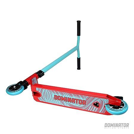 Dominator Ranger Stunt - Patinete, Turquoise/Red: Amazon.es ...