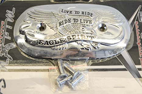 Amazon com: V-Factor Eagle Spirit Air Filter Cover Inset For Harley