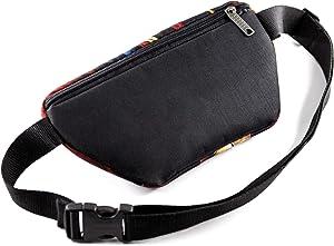 Casual Daypack Dance Matisse Crossbody Bag Belt Waist Packs, Waist Pocket, Adjustable belt bag, famous art canvas, for travellers (Orange)