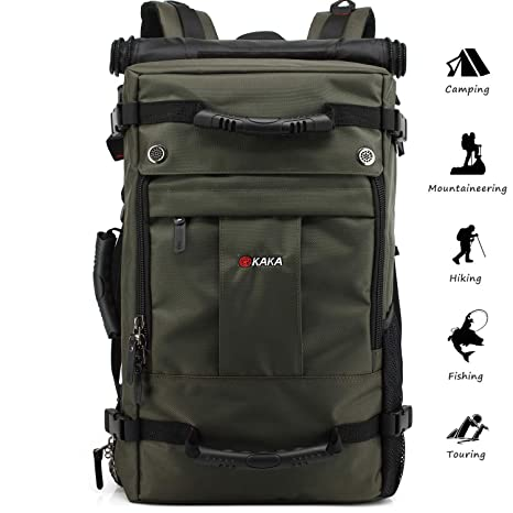 Leshiry Water Repellent Anti-Theft Hiking Backpack Big Capacity Camping  Mountaineering Climbing Laptop Oxford Backpack 90dfe9d71d78b