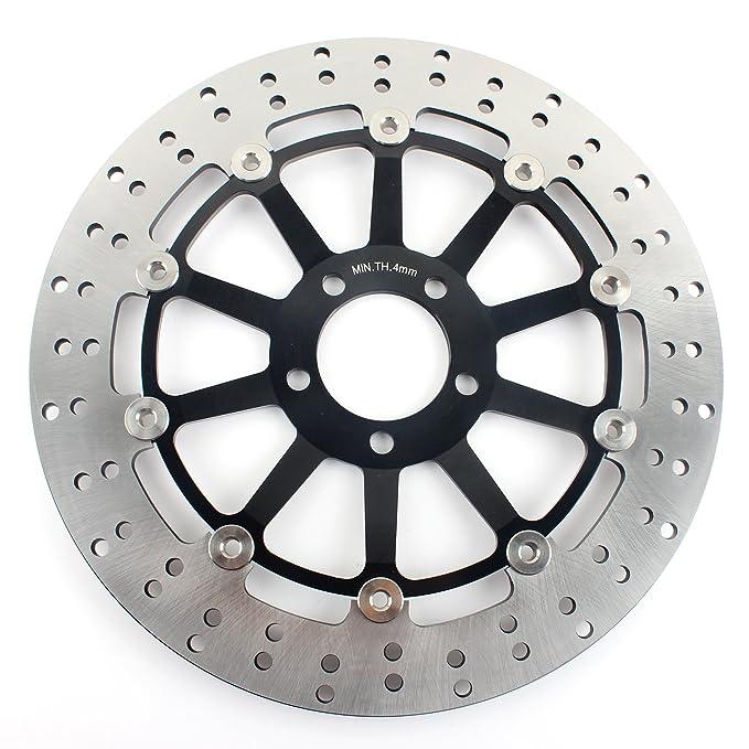 TARAZON 2x Rotores Discos de Freno Delantero para Kawasaki ...