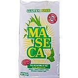 White Maseca Corn Flour Gluten Free 2 Kg 4.4 lb Mexican cooking