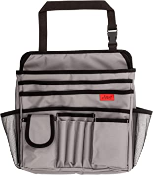 Strong /& Durable Fits Any Car//Truck Lusso Gear Car Front Seat Organizer Mobile//Car Office Organizer Storage for Laptop//iPad//Office Supplies /& More Also for Law Enforcement//Police//Patrol Bag