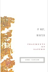 If Not, Winter: Fragments of Sappho Paperback