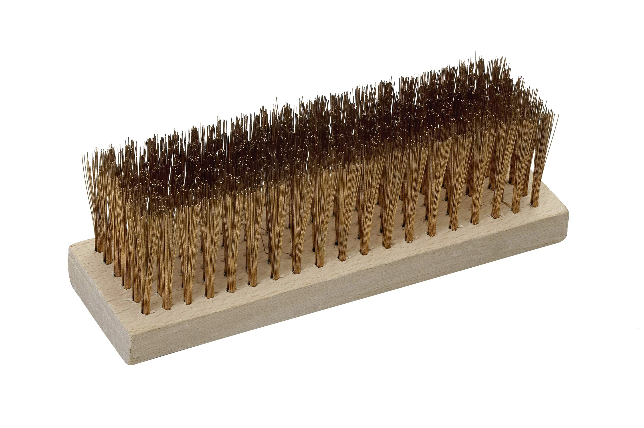 CS Unitec EX1002-5A Non-Sparking 5 Row Aluminum Bronze (AlBr) Scratch Brush, Flat Back