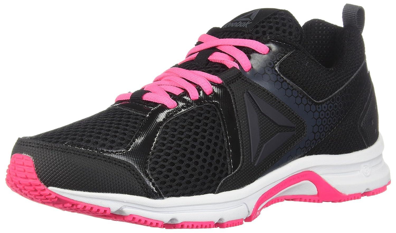 Reebok Women's Runner 2.0 MT Track Shoe B073WSY58Z 8 B(M) US|Black/Coal/Acid Pink/White