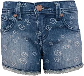 b4c36b52f1 Pinc Premium Big Girls' Daisy Print Denim Short