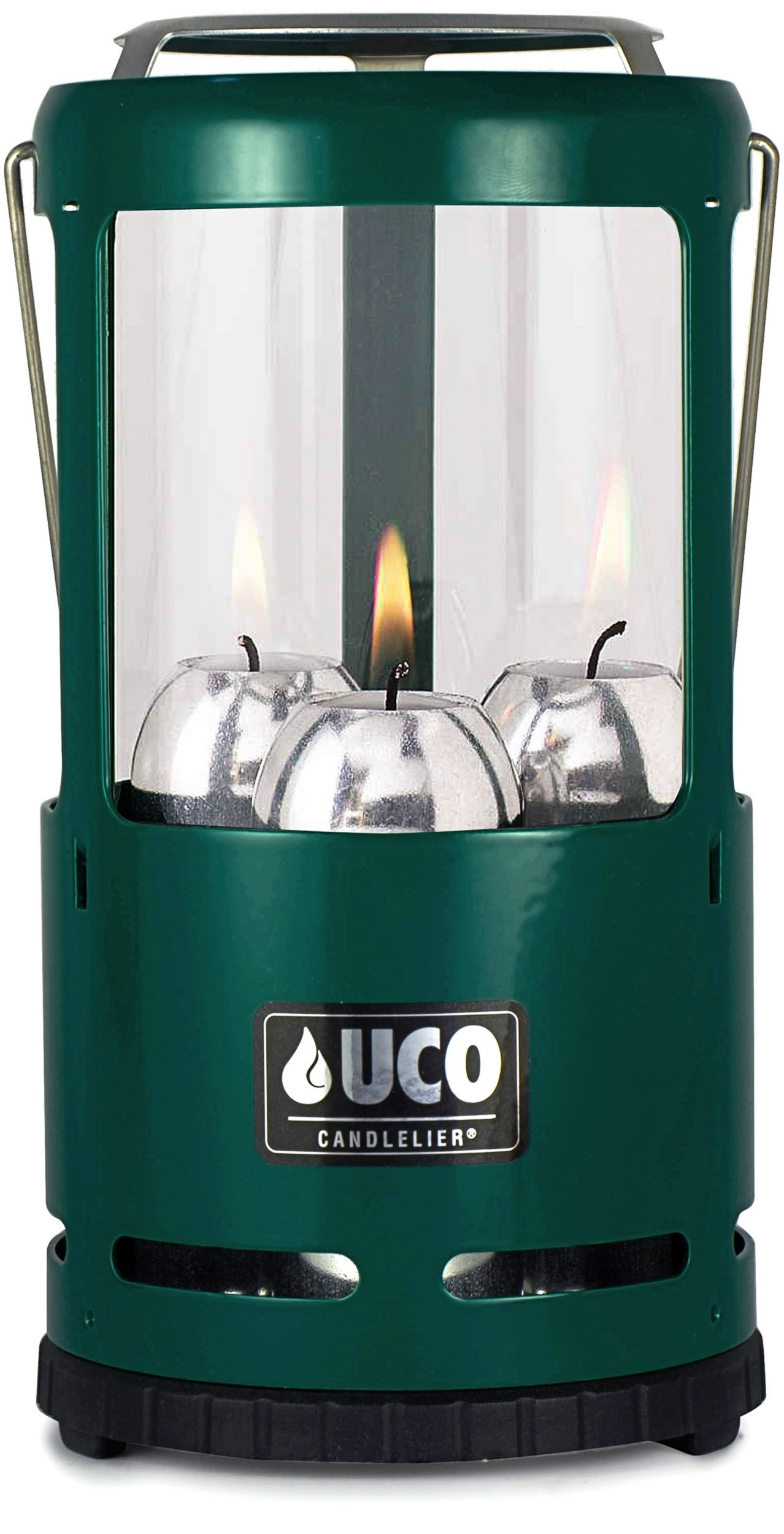 UCO Candlelier Deluxe Candle Lantern, Green