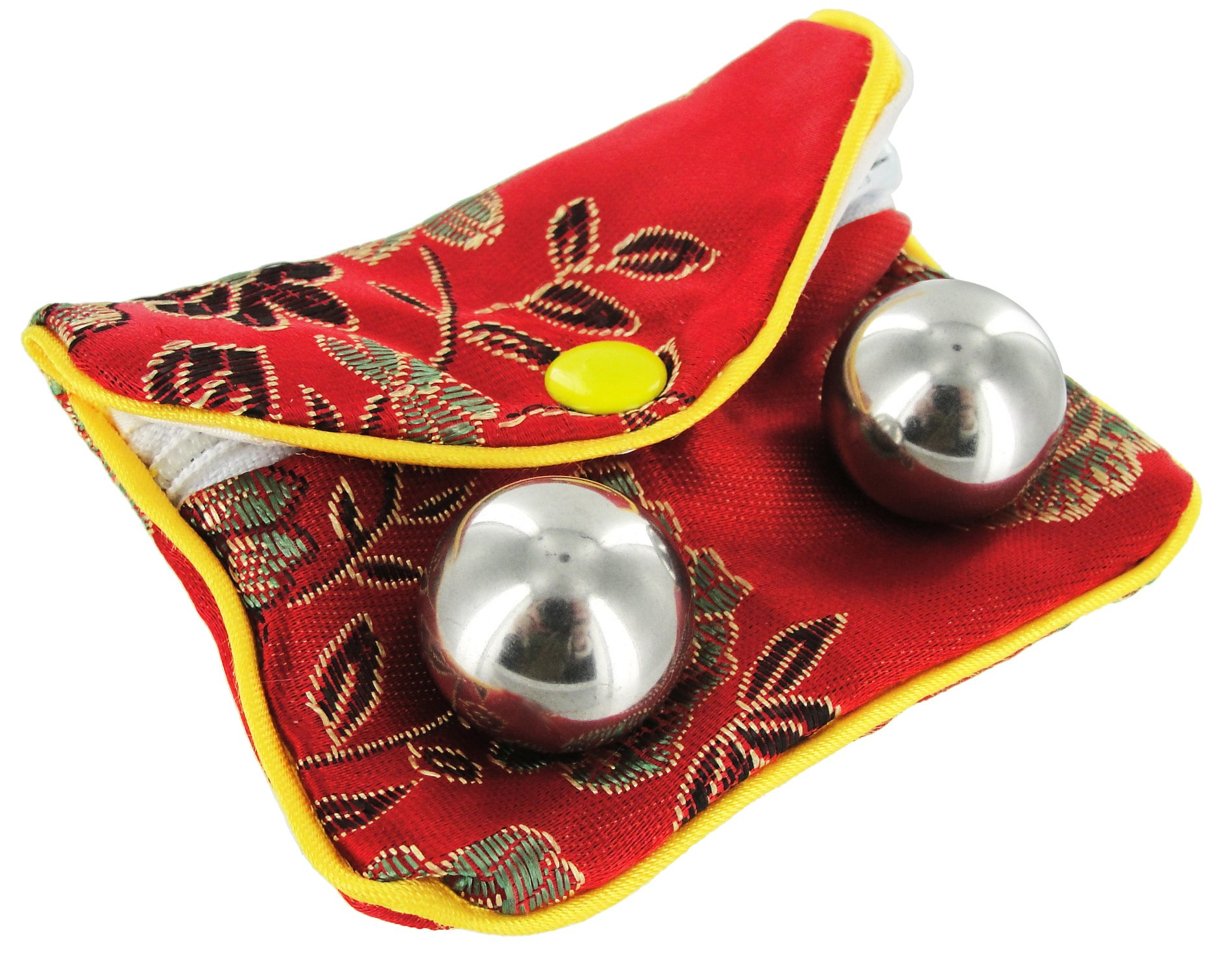 Trinity Vibes Stainless Steel Benwa Kegal Balls With Pouch