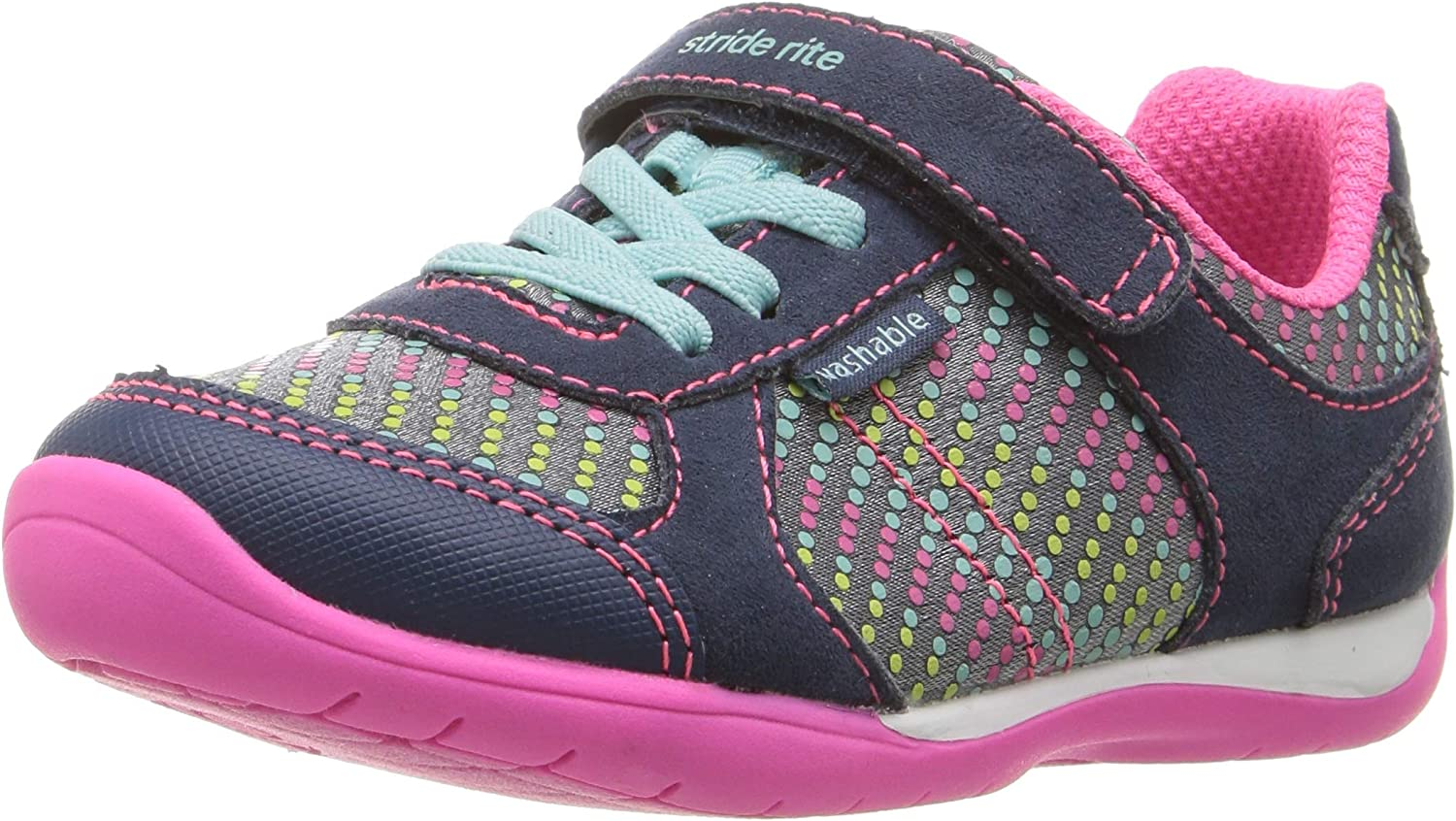 Stride Rite Toddler and Little Girls Molly Mary Jane Shoe
