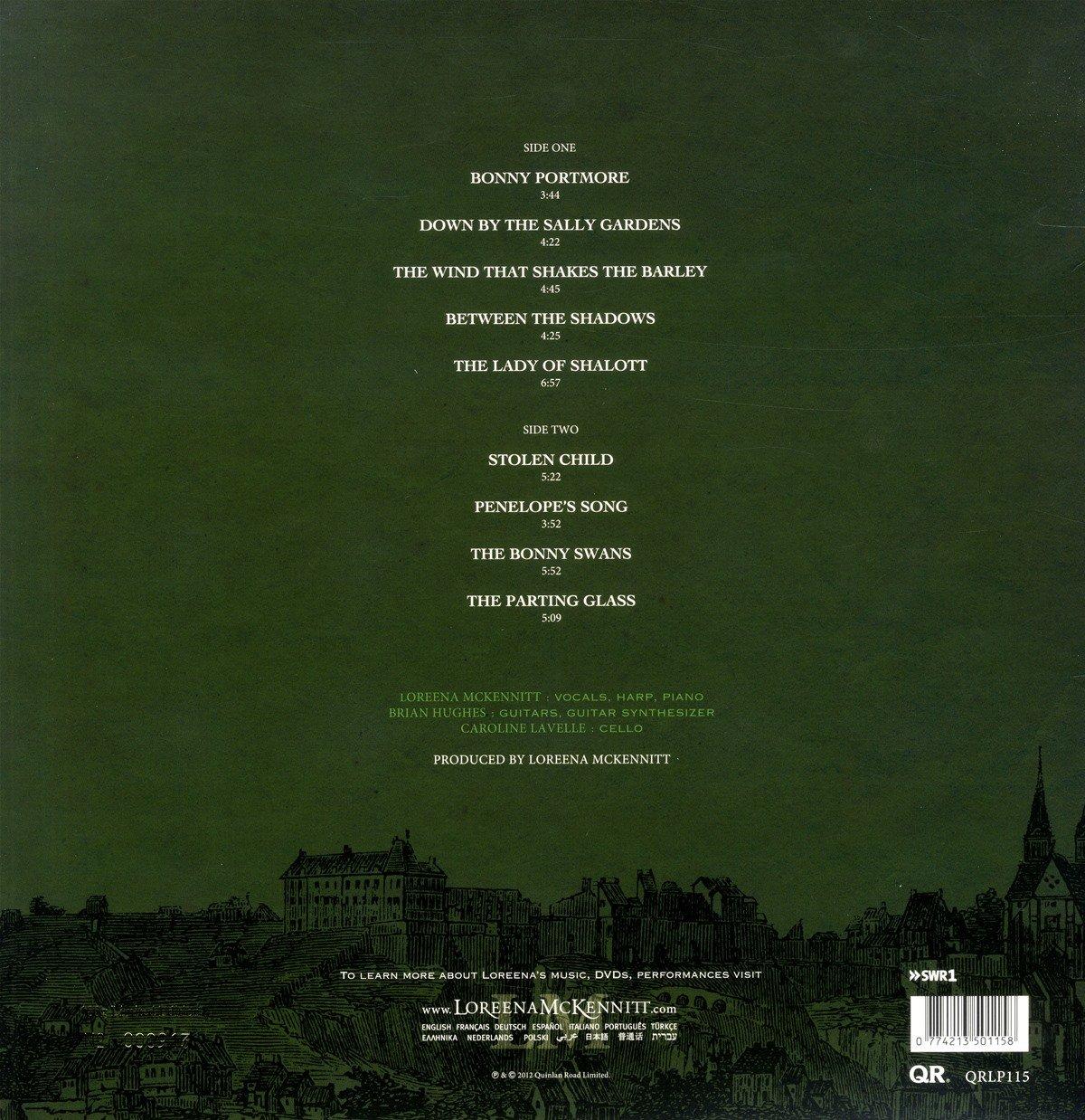 loreena mckennitt troubadours on the rhine lp amazon com music
