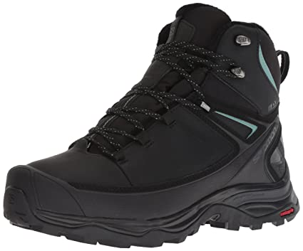 newest 8c582 38994 SALOMON X Ultra Mid CS WP Winter Shoes Women Black/Phantom ...
