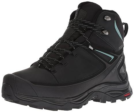 Salomon X Ultra Mid CS WP W Chaussures D'hiver Black: Amazon