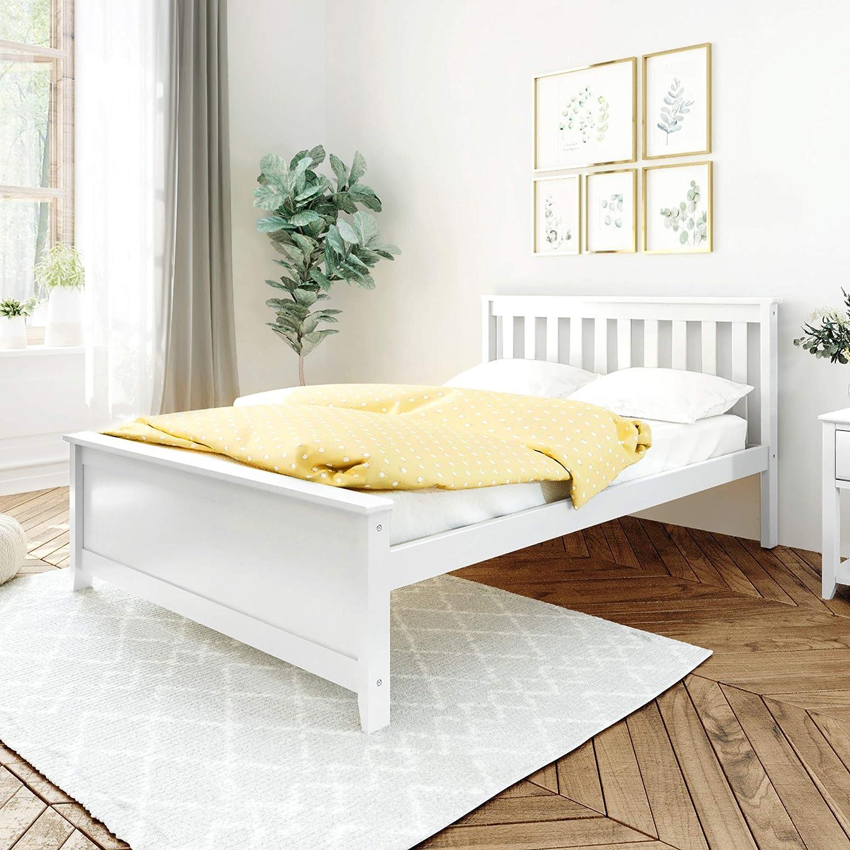 Amazon Com Max Lily Bed Full White Furniture Decor