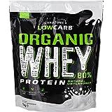 Poudre de protéine de lactosérum à faible teneur en glucides de CarbZone | Concentré obtenu à partir de vaches nourries à l'herbe – Protéine de lactosérum non aromatisée – Sans gluten – Sans sucre ajouté | (1 KG)