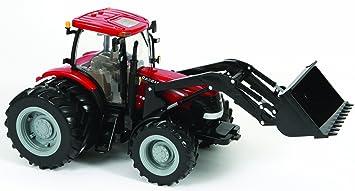 Big Farm - Tractor Case IH Puma 195 con pala y doble rueda (TOMY 42427