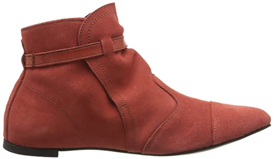 Bobal 326 - Botines planos, talla: 36, Color Rojo (Rouge (Coral)) Neosens