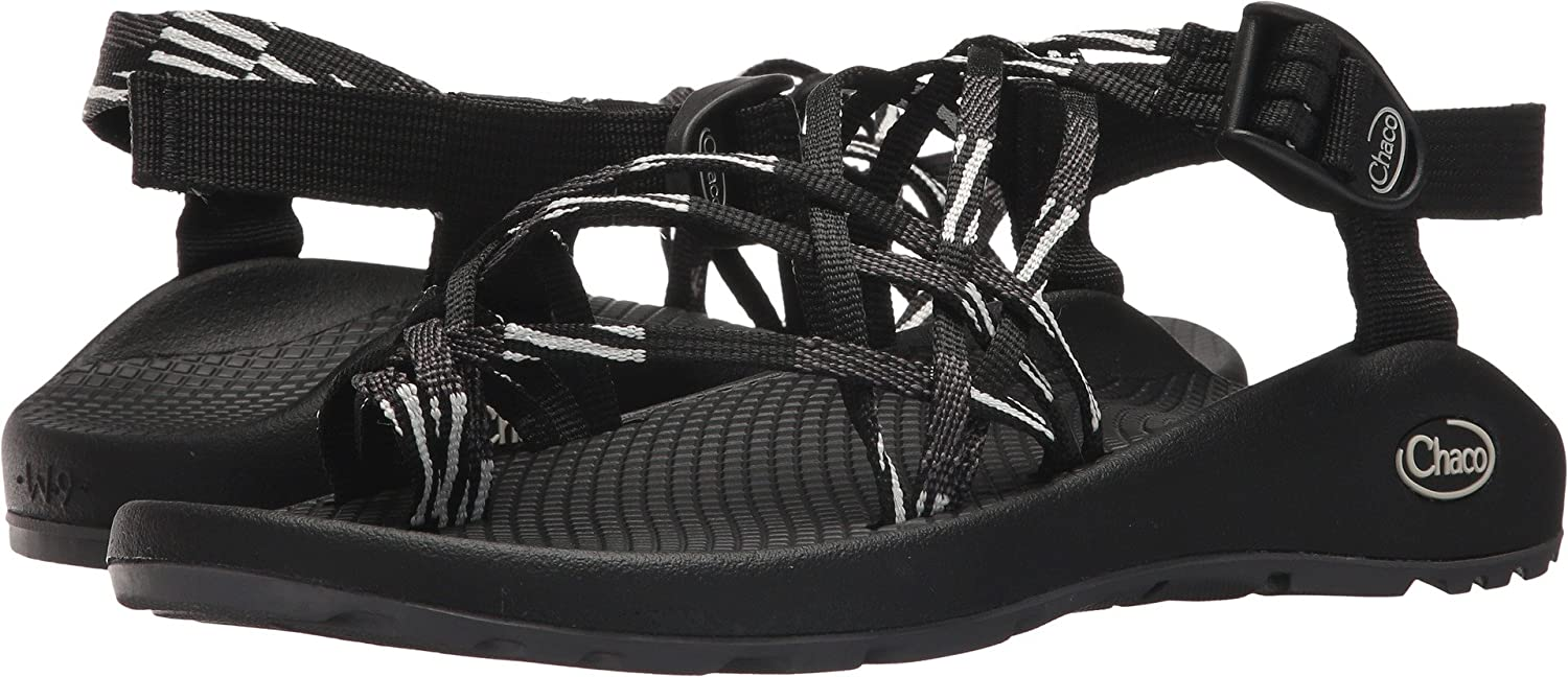 Chaco Women's ZX3 Classic Sport Sandal B07BFD69NQ 8 D US Scatter Black/White