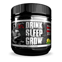 Rich Piana 5% Nutrition Drink Sleep Grow Nighttime Aminos Post Workout Muscle Building...