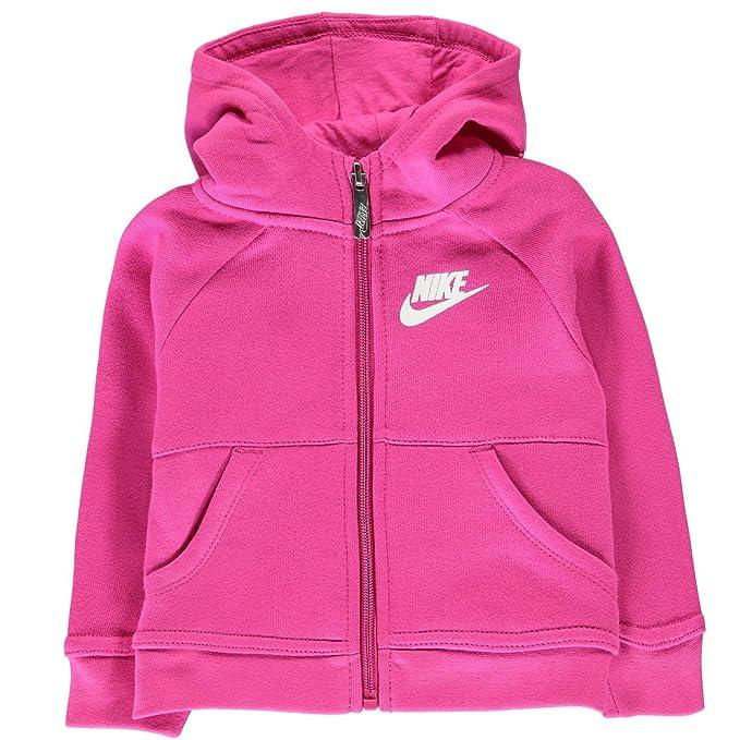 55277548bce8b Nike - Chaqueta Deportiva - para bebé niño Fucsia 12 Meses  Amazon.es  Ropa  y accesorios