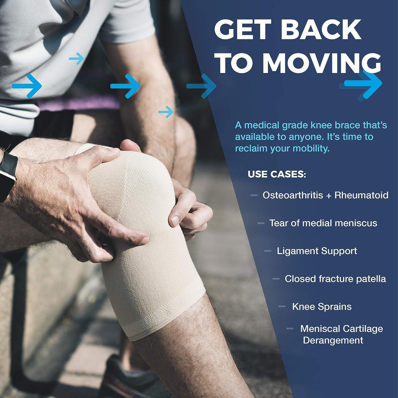88ca6768ef Amazon.com: VertaLoc Max OA Knee Brace-XXXXLarge-Right: Health & Personal  Care