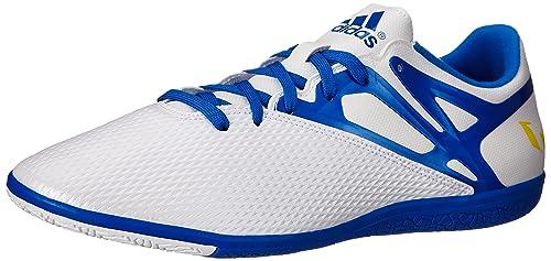reputable site d7cf8 f5aac adidas OriginalsMESSI 15.3 IN-M - Messi 15.3 In-m Hombre, (Blanco Azul Negro (White Prime Blue S12 Core Black)), 12.5 M US  Amazon.es  Zapatos y  complementos