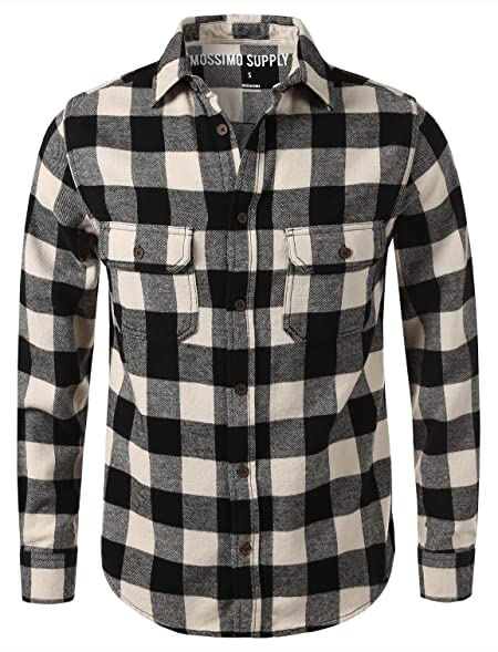 7 Encounter Mossimo Men's Flannel Button Down Shirt at Amazon ...