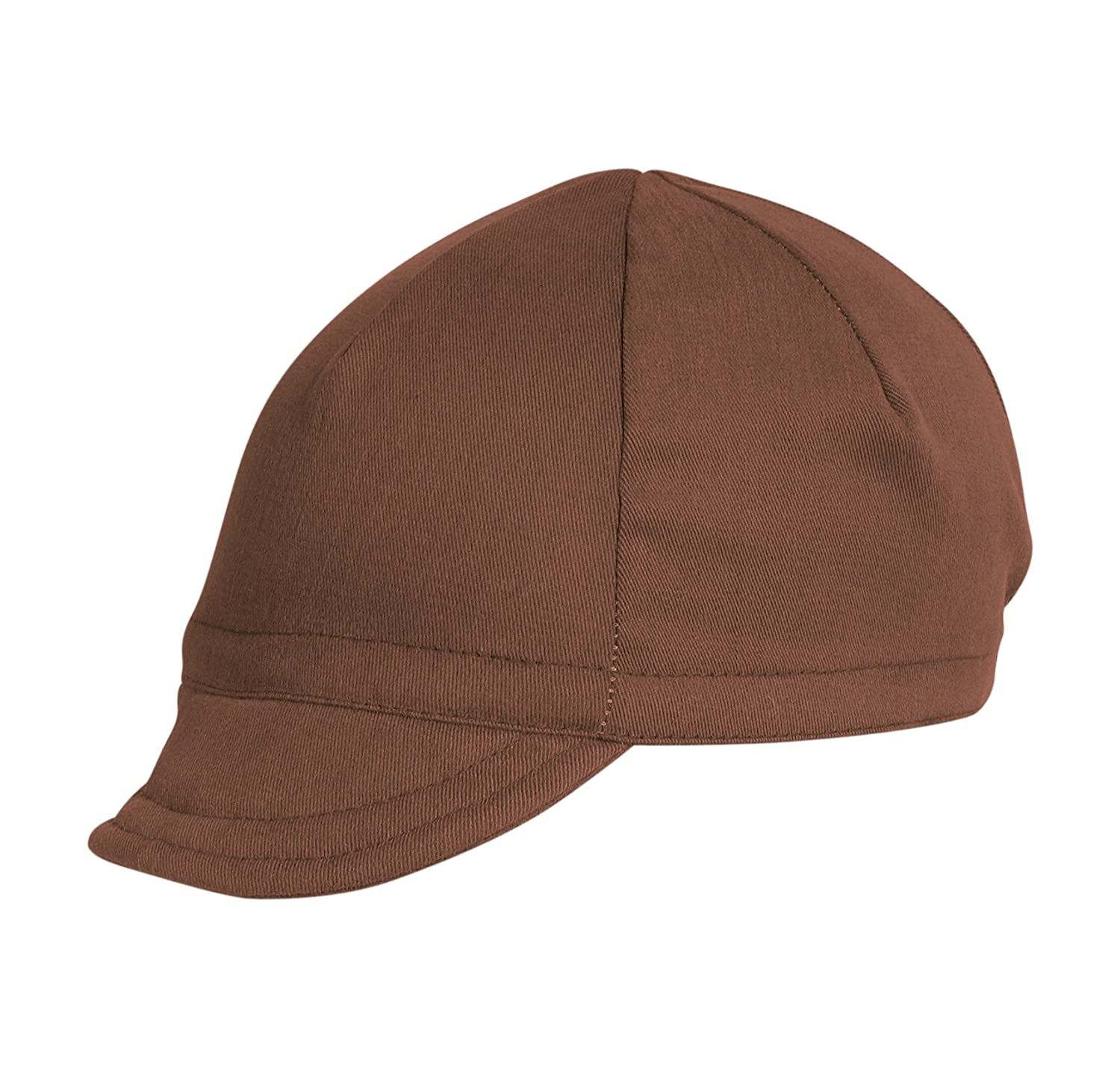 Pace Euro Brushed Twill Nutmeg Cycling Cap 14-0203
