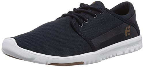 Etnies Scout 4101000419/488, Sneaker Uomo, Negro (black/white/gum/979), 37.5 Eu
