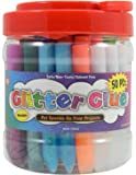 Glitter Glue Pens- Bonus Bucket Set of 50