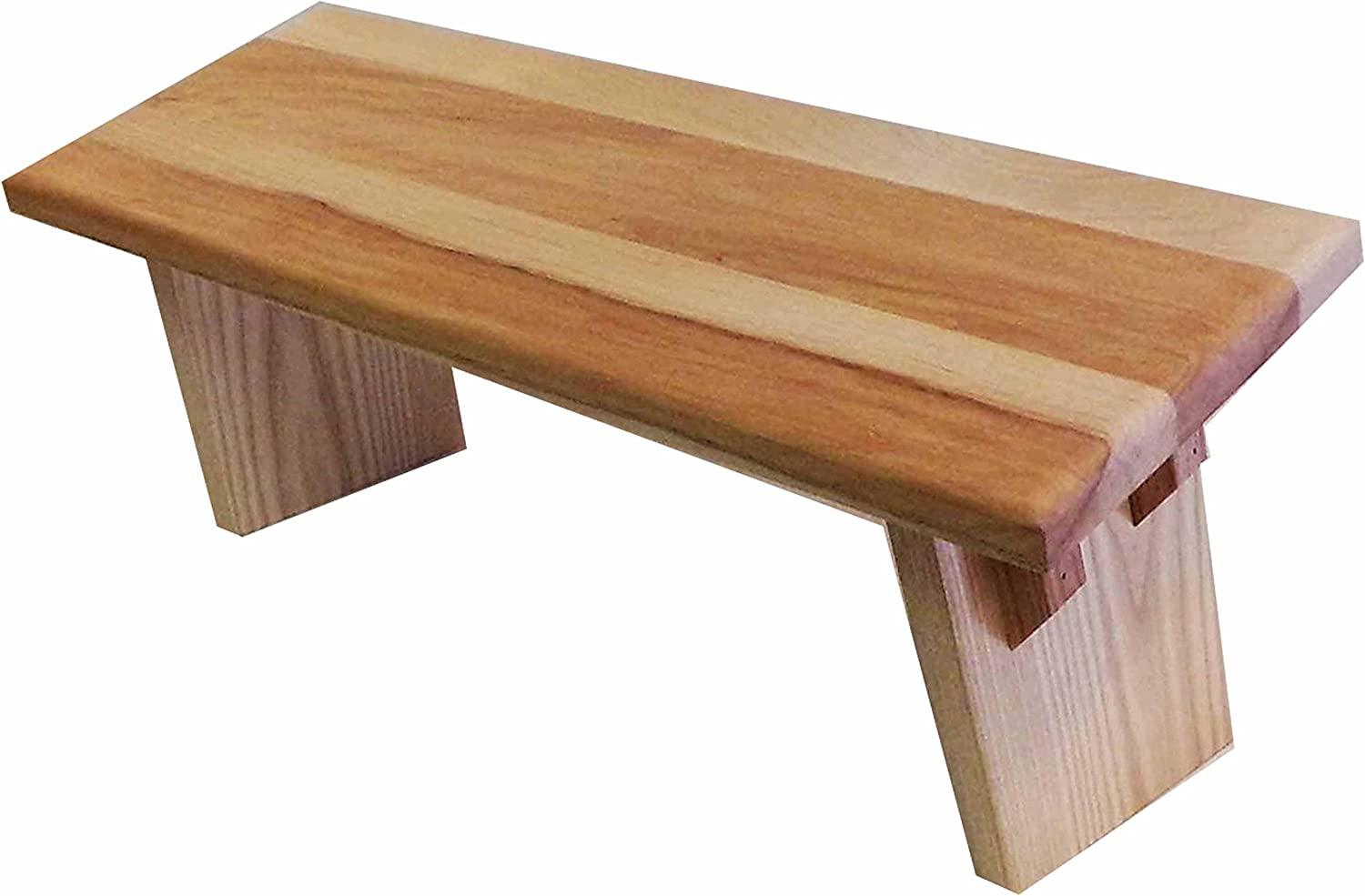 EarthBench Maple Hardwood Meditation Bench by