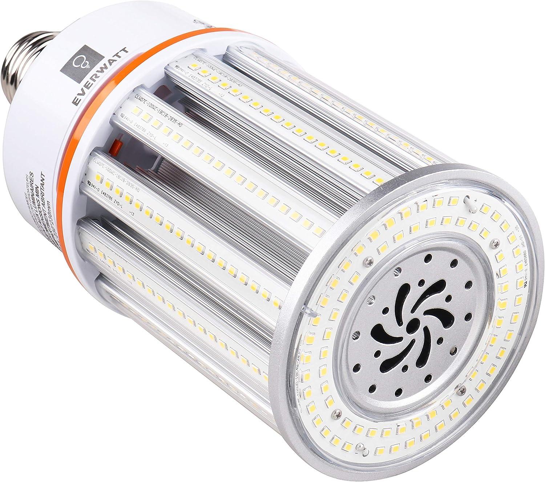 100w Led Corn Light Bulb Large Mogul E39 Base 14422 Lumens 5000k Replacement For 600w To 700w Equivalent Metal Halide Bulb Hid Cfl Hps Amazon Co Uk Lighting