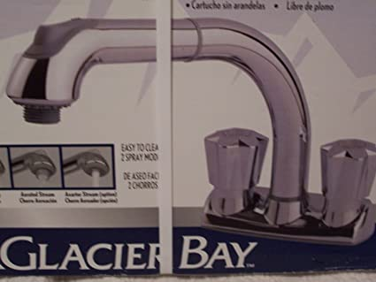 Glacier Bay Laundry Sink Pull-out Faucet - Utility Sink Faucets ...